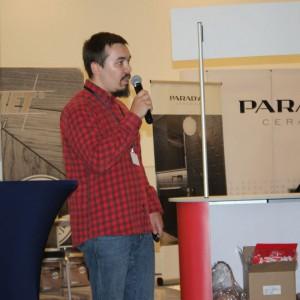 Radosław Skowron z firmy LTB. Fot. Publikator