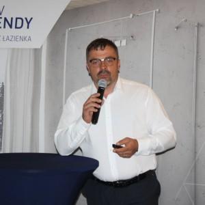 Krzysztof Kopyczyński z firmy Finishparkiet. Fot. Publikator