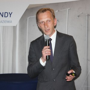 Marcin Pietrzyk z firmy CAD Projekt. Fot. CAD Projekt
