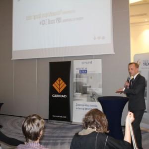Prezentacja firmy CAD Projekt. Fot. Publikator