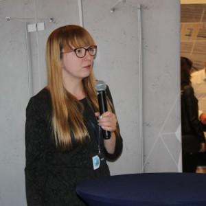 Bożena Maciaszek z firmy Besco. Fot. Publikator