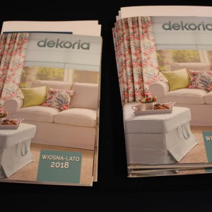 Katalogi firmy Dekoria. Fot. Publikator
