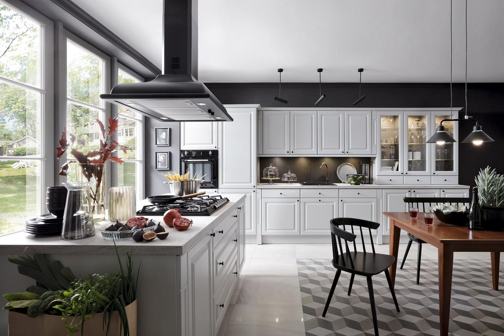 Kuchnia z serii Senso Kitchens firmy Black Red White. Fot. Black Red White