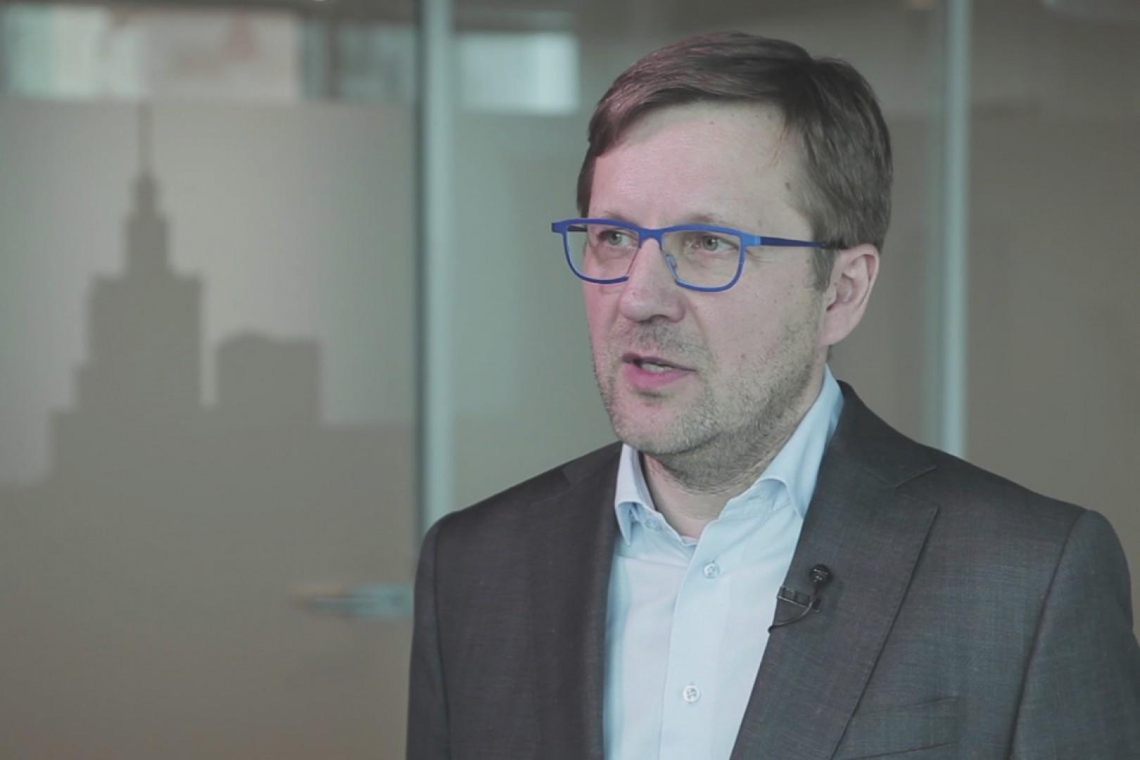 Tomasz Modzelewski, prezes zarządu Paged. Fot. Żelazna Studio