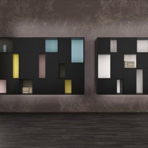 Półki na książki mogą stanowić element dekoracyjny ściany. Fot. Euromobil