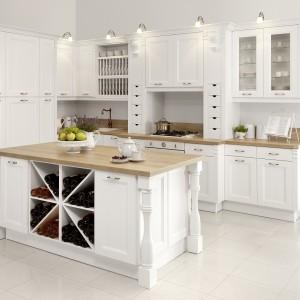 Kuchnia Villa, dąb, biały. Fot. WFM Kuchnie