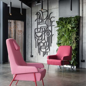 Różowy fotel. Fot. Noti/Everspace