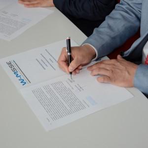 Dokument został podpisany przez Zarząd W-M SSE SA
