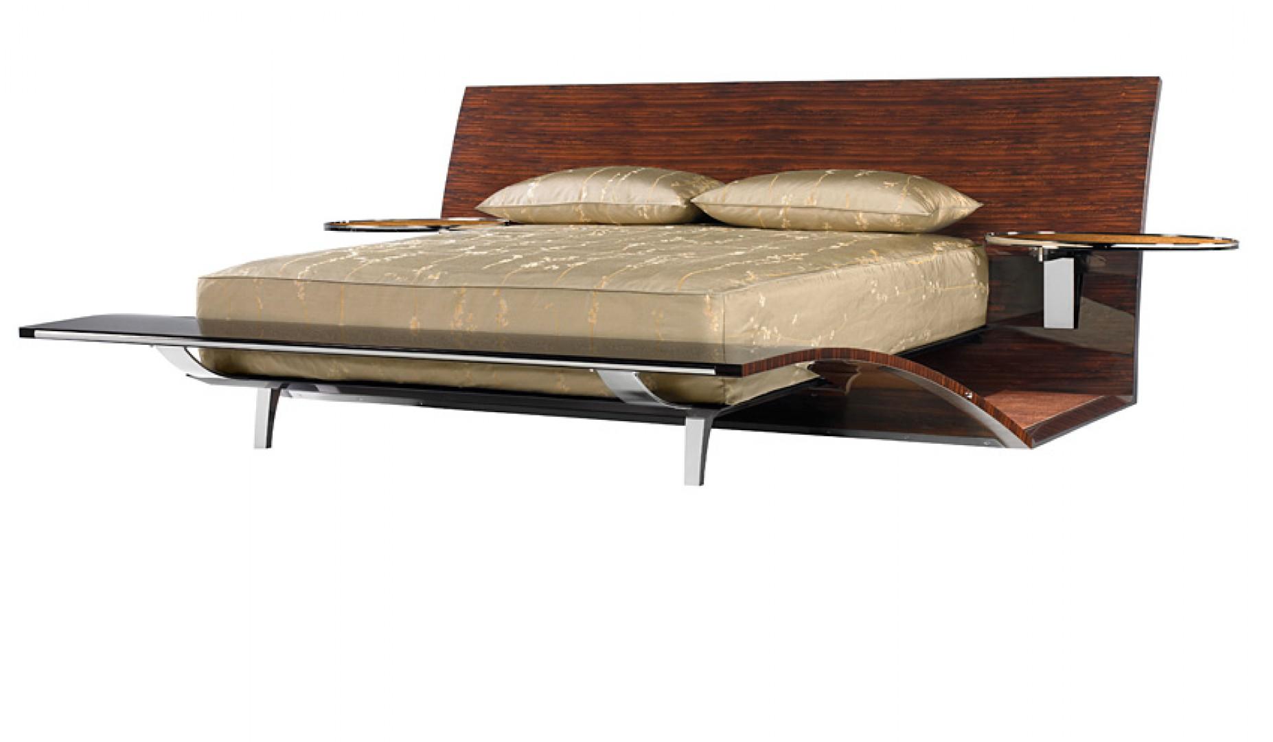 Łóżko PP-2 marki Pitt-Pollaro. Projekt: Brad Pitt. Fot. Pitt-Pollaro
