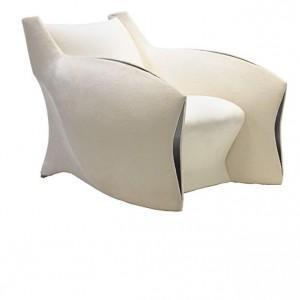 Fotel CC-1 marki Pitt-Pollaro. Projekt: Brad Pitt. Fot. Pitt-Pollaro