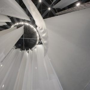 Instalacja zaprojektowana przez Mario Belliniego. Fot. Proposte