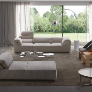 Sofa Freud firmy Meritalia. Projekt: Mario Bellini. Fot. Meritalia