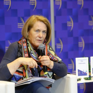 Ewa Gołębiowska, dyrektor, Zamek Cieszyn, fot. PTWP
