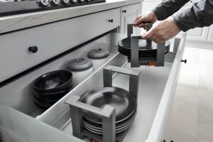 Nowoczesne rozwiązania do przechowywania w kuchni