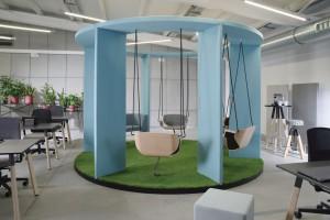"""""""Social Swing"""" - kreatywność w biurze"""