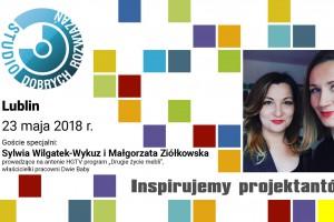 """Prowadzące program """"Drugie życie mebli"""" gośćmi specjalnymi SDR w Lublinie"""