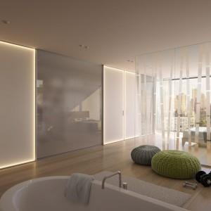 Drzwi z oświetleniem LED. Fot. Raumplus