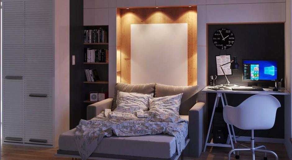 Meble do małego apartamentu - przykładowe rozwiązania