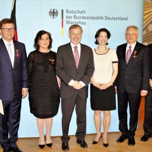 Krystyna Boczkowska, prezes Robert Bosch w Polsce (druga od lewej), została odznaczona Orderem Zasługi RFN. Fot. Bosch