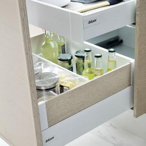 System szuflad firmy Blum - do kuchni. Fot. Blum
