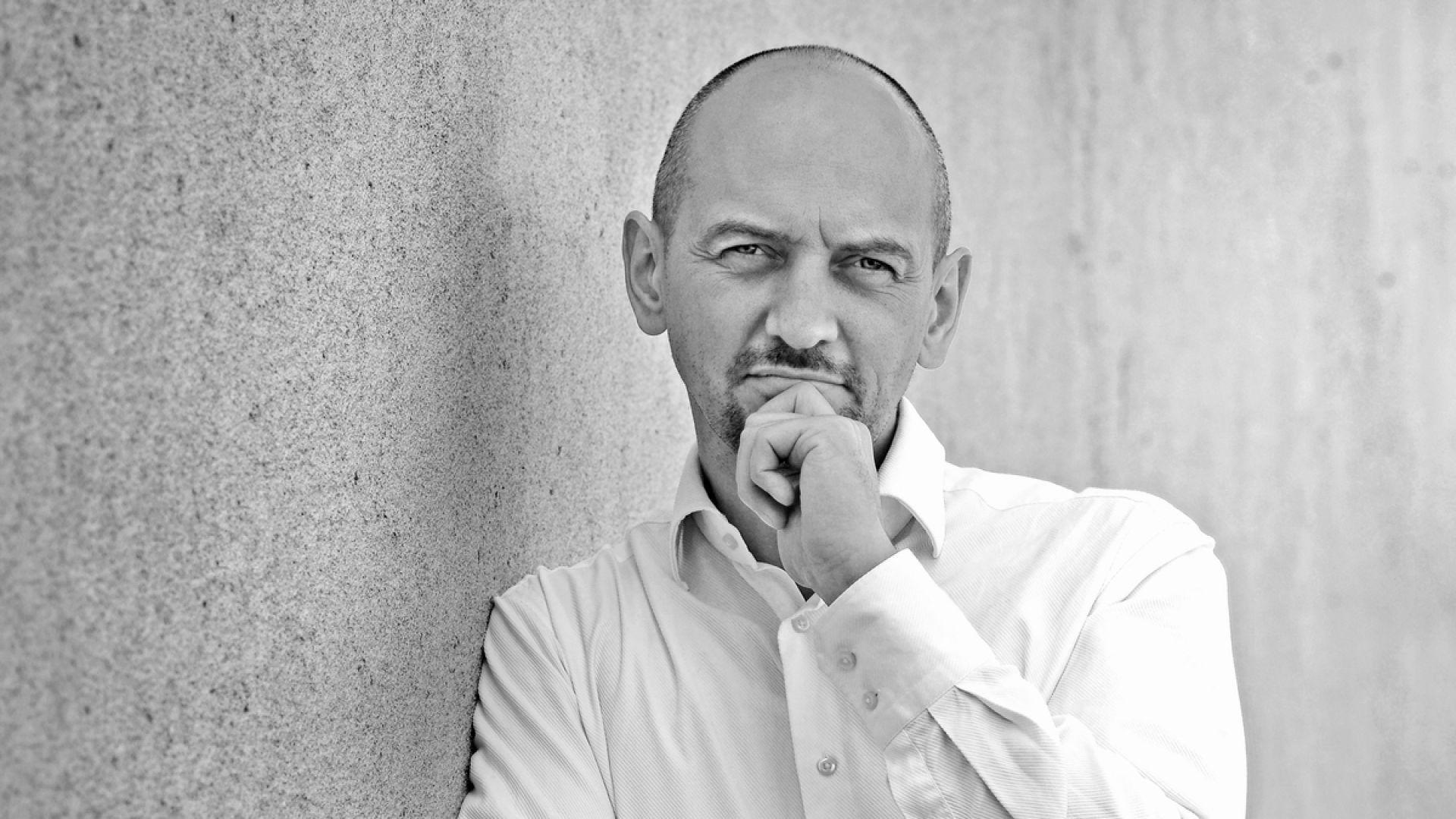 Piotr Wełniak - gość Studia Dobrych Rozwiązań w Poznaniu. Fot. Archiwum