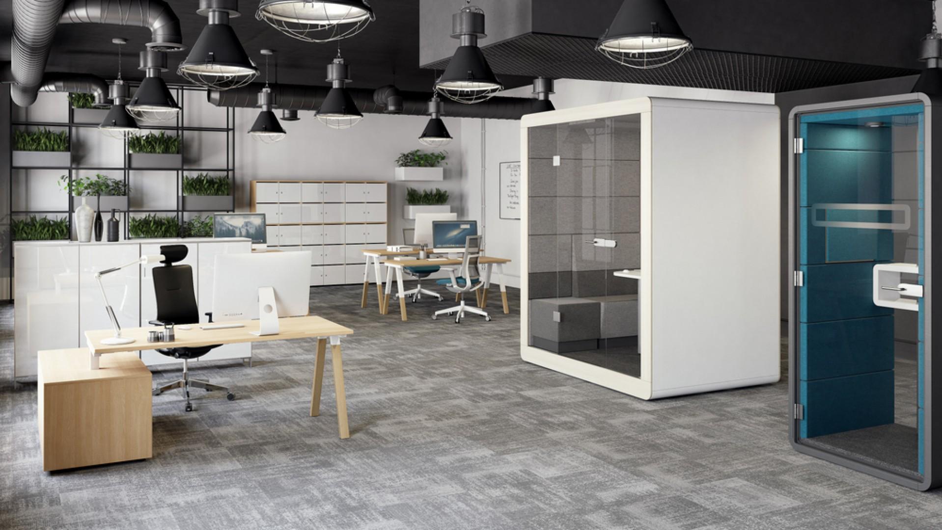 Kolekcja Flexido firmy Mikomax Smart Office. Fot. Mikomax Smart Office