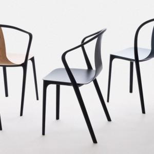Kolekcja krzeseł Belleville firmy Vitra. Projekt Ronan i Erwan Bouroullec. Fot. Vitra