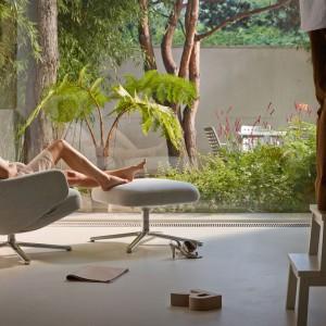 Fotel Grand Repos firmy Vitra. Projekt Antonio Citterio. Fot. Vitra