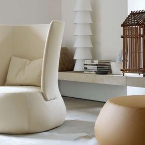 Fotel Fat firmy B&B Italia. Projekt Patricia Urquiola. Fot. B&B Italia