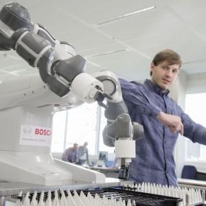 Bosch inwestuje w rozwój sztucznej inteligencji m.in. w przemyśle. Fot. Bosch