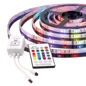 Muzyczna taśma LED. Fot. Activejet