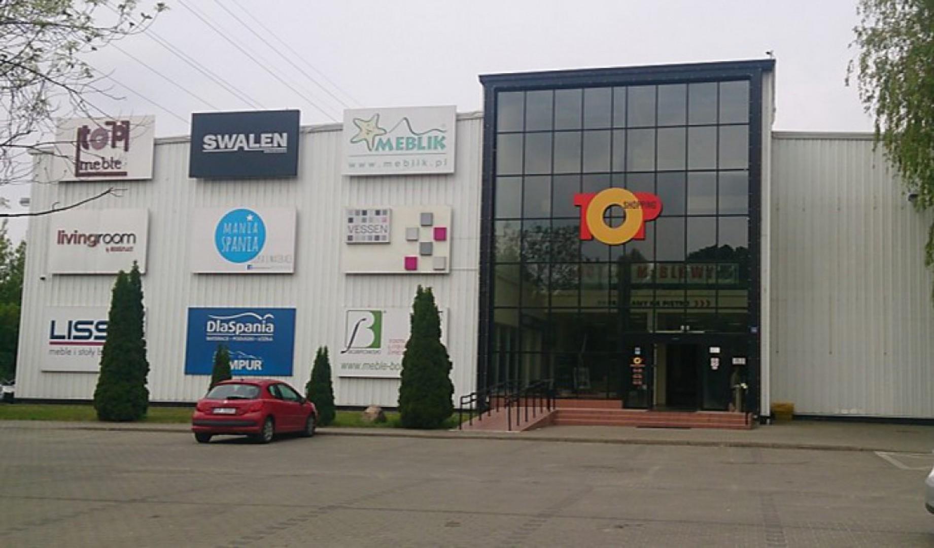 Centrum meblowe Top Shopping w Łodzi. Fot. GNRR Nieruchomości