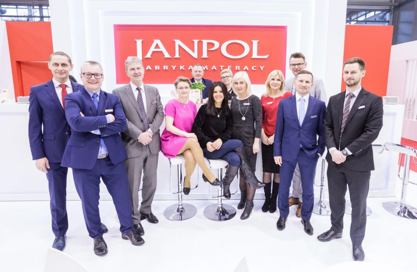 "Firma Janpol na targach ""Meble Polska 2018"". Fot. Janpol"