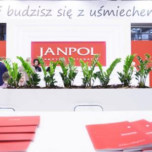 Stoisko firmy Janpol na targach w Poznaniu