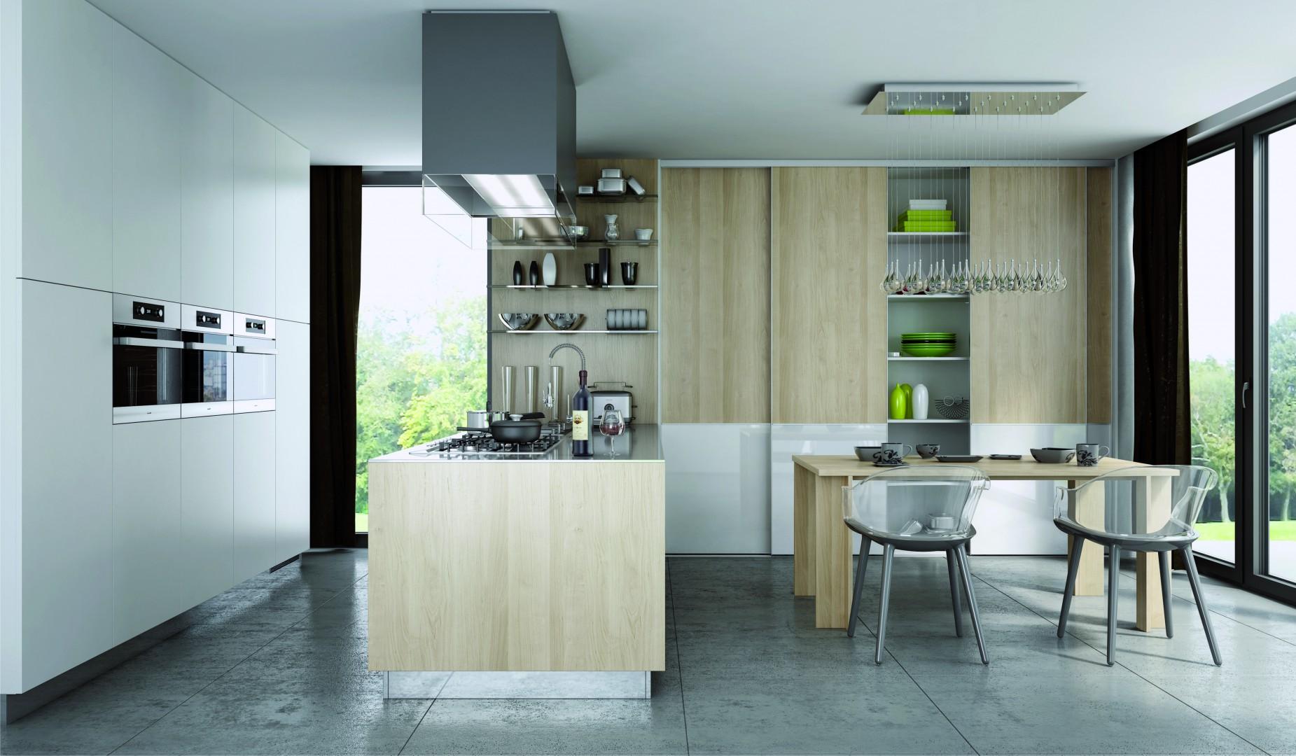 System Heliodor zastosowany w kuchni. Fot. Komandor