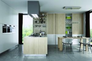 Systemy przesuwne w kuchni - idealne do przechowywania