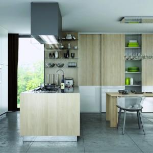 System przesuwny Heliodor zastosowany w kuchni. Fot. Komandor