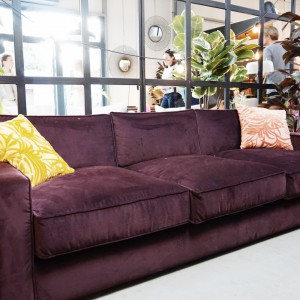 Sofa Harold Rosanero w salonie 9Design