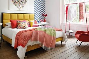 Meble do sypialni: wybierz kolory lata!