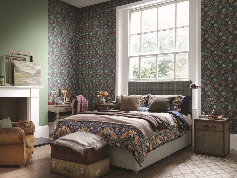 Łóżko kontynentalne marki Hypnos Beds. Fot. Hypnos Beds