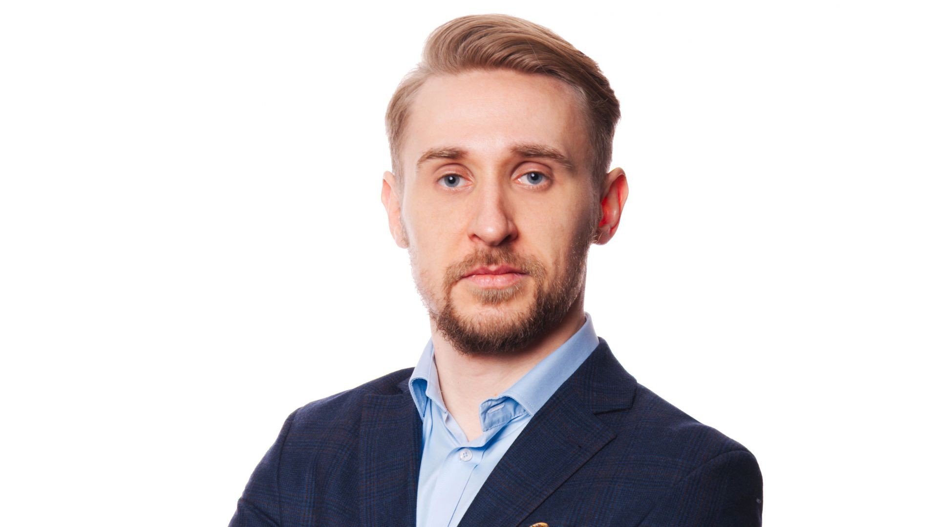 Sylwester Budzelewski, współzałożyciel i dyrektor zarządzający agencji reklamowej White Anchor