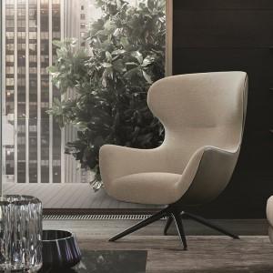Fotel o kształcie