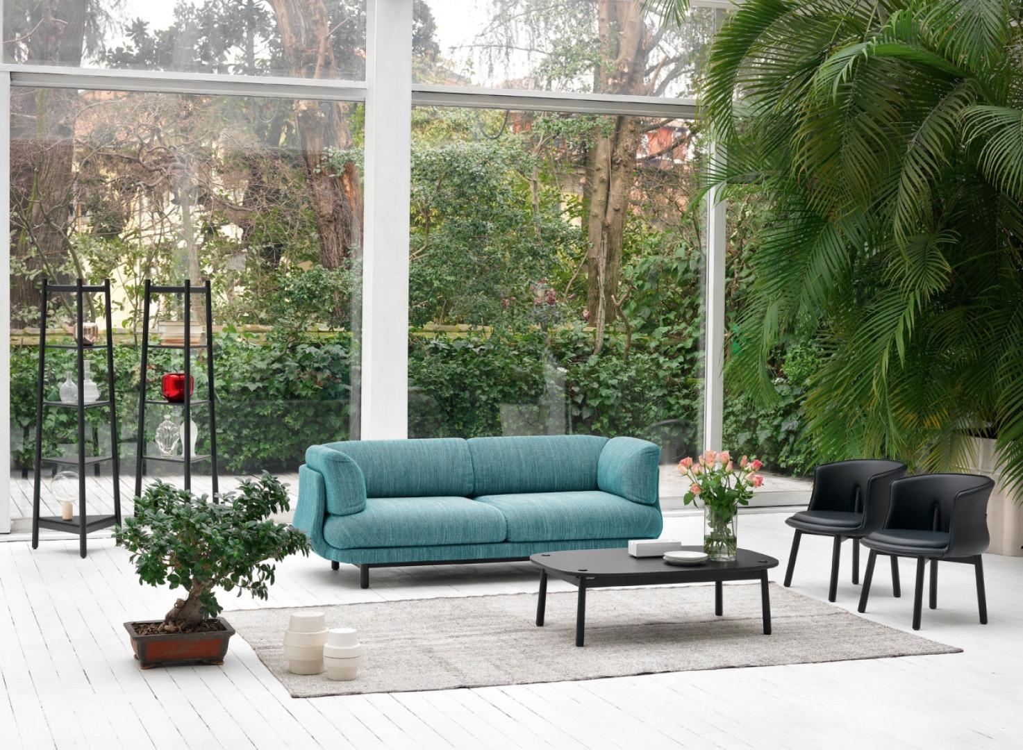 Sofa z kolekcji Peg firmy Cappellini. Projekt: Oki Sato (Nendo). Fot. Cappellini