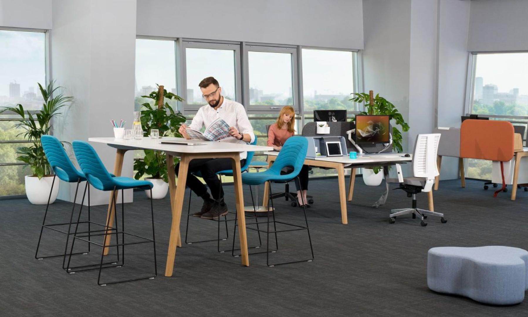 Kolekcja mebli biurowych Grupy Nowy Styl. Dystrybucja: Everspace. Fot. Grupa Nowy Styl