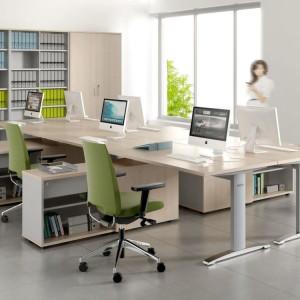 Kolekcja mebli biurowych firmy MDD. Fot. Ernest Winczyk/MDD
