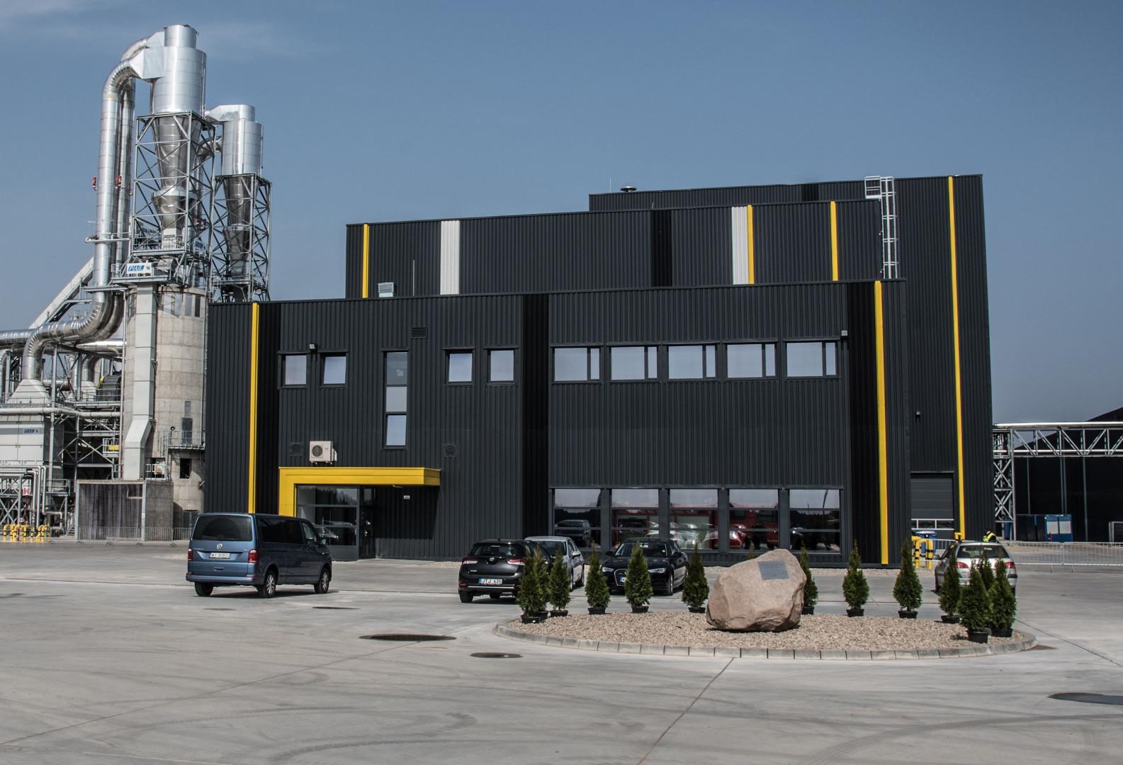 Fabryka płyt wiórowych Forte w Suwałkach. Fot. Forte
