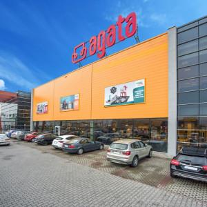 Pierwszy sklep sieci Agata we Wrocławiu. Wkrótce powstanie kolejny