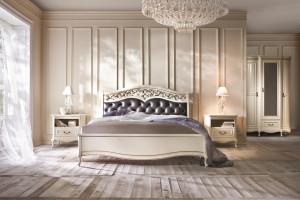 Sypialnia w stylu glamour - propozycje mebli pasujących do aranżacji