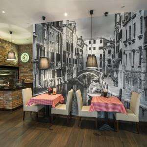 Aranżacja Restauracji Gusto Dominum. Projekt: The Space