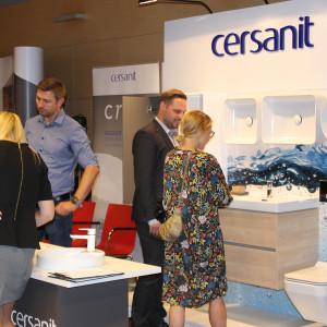 Prezentacja stoiska: firmy Cersanit.